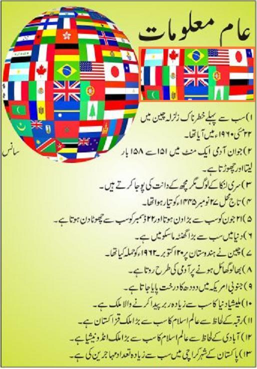 General Knowledge in Urdu for Android - APK Download