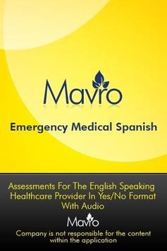 Medical Spanish - AUDIO poster