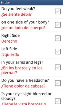 Medical Spanish - AUDIO screenshot 3