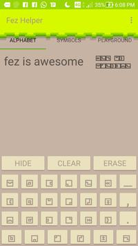 Fez Translate poster