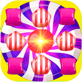 Candy Jump Up Down icon