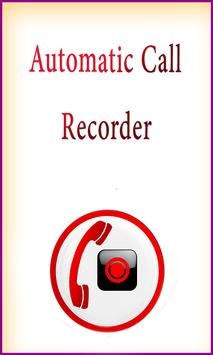 Call Recorder Automatic Smart poster
