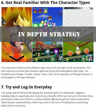 Guide for DBZ Dokkan Battle poster