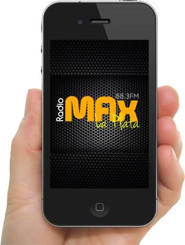 RADIO MAX 88.3 FM LA PLATA poster