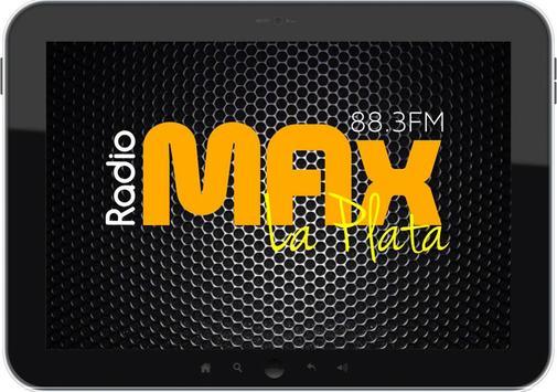 RADIO MAX 88.3 FM LA PLATA screenshot 1