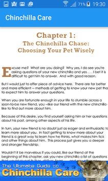 Chinchilla Care apk screenshot