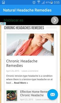 Natural Headache Remedies screenshot 4
