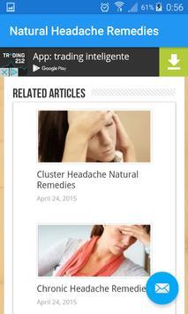Natural Headache Remedies apk screenshot