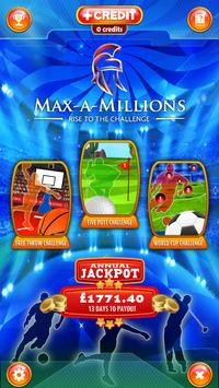 MAX-A-MILLIONS CHALLENGE ZONE poster