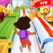 Little Dora Subway Run icon