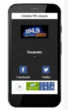 Cidade FM Jequie screenshot 1