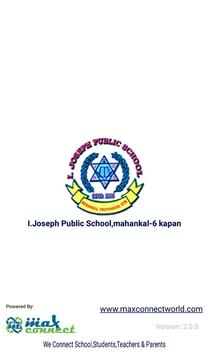 I.Joseph Public School,mahankal-6 kapan poster
