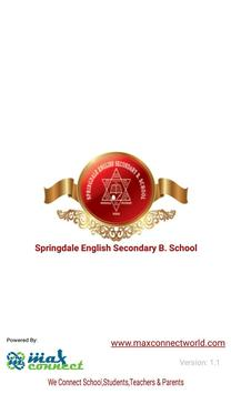 Springdale English Secondary B. School Poster