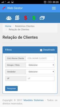 Maxdata - WebGestor screenshot 3