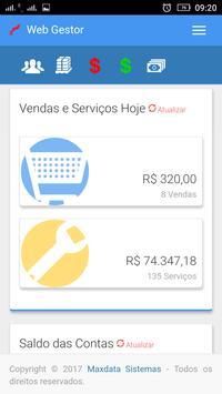 Maxdata - WebGestor screenshot 2