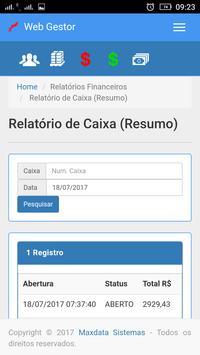 Maxdata - WebGestor screenshot 7