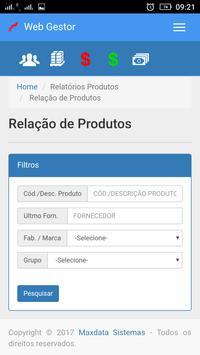 Maxdata - WebGestor screenshot 4