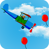 Airplane Balloons icon