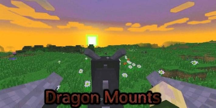 Dragon Mounts Mod for Minecraft screenshot 1
