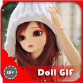 Cartoon GIF icon