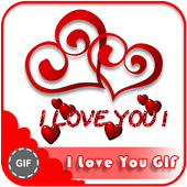 I Love You Gif icon