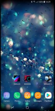 RAINY Photos Live Wallpaper 스크린샷 4