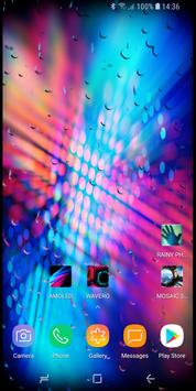 RAINY Photos Live Wallpaper 스크린샷 6