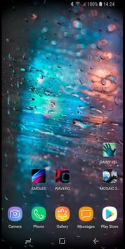 RAINY Photos Live Wallpaper 스크린샷 2
