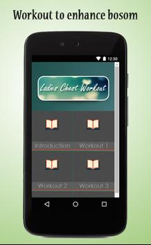 Ladies Chest Workout Guide apk screenshot