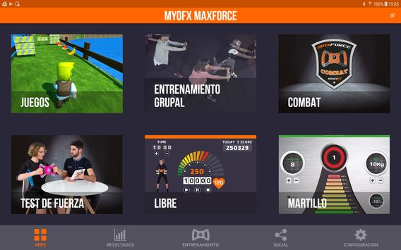 MyoFX MaxForce screenshot 1
