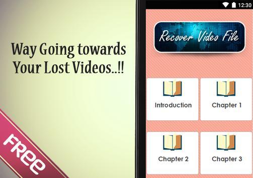 Recover Video File screenshot 1