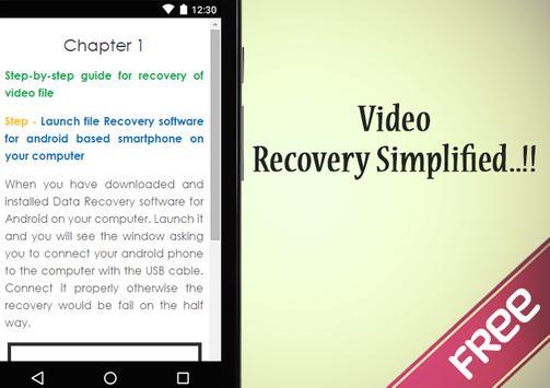 Recover Video File screenshot 2