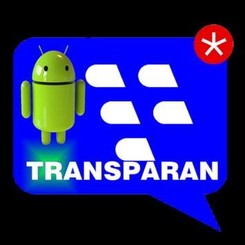 BBM Transparan poster