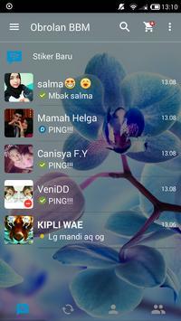 BBM Transparan apk screenshot