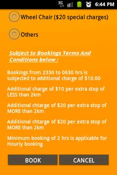 Maxicab Booking screenshot 3