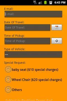 Maxicab Booking screenshot 2