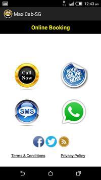 Maxicab Booking apk screenshot