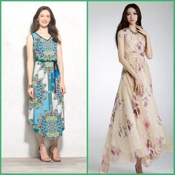 Maxi Dress Design Ideas apk screenshot