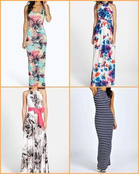 Maxi Dress Gallery Ideas apk screenshot
