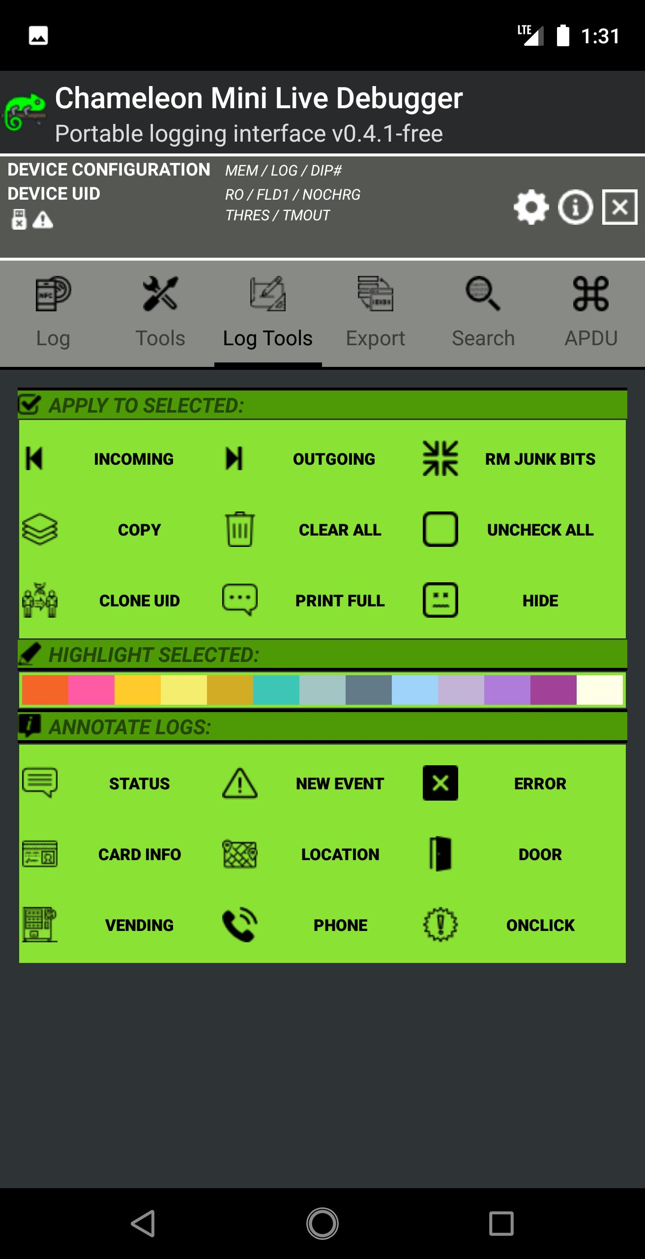Chameleon Mini Live Debugger for Android - APK Download