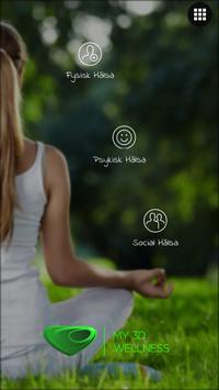 My 3D Wellness poster