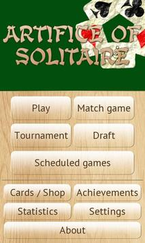 Artifice of Solitaire apk screenshot