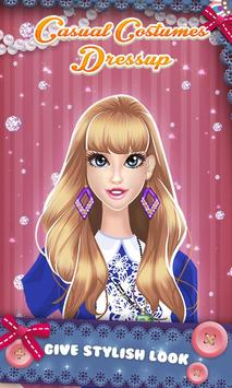 Casual Costumes: Dressup Game poster