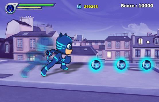 Pj Super Masks Run City apk screenshot