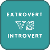 Introvert or extrovert test for children icon