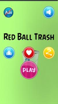 Red Ball Trash apk screenshot