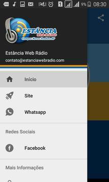 Estância Web Rádio screenshot 2