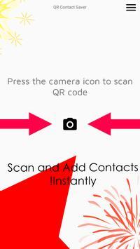 QR Contact Saver poster
