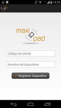 MaxiPAD poster