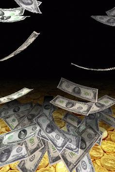 Falling Money 3D Live Wallpaper Apk Screenshot